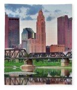 2017 Columbus Panoramic Fleece Blanket