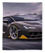 2017 Lamborghini Centenario Fleece Blanket