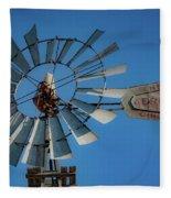2017_08_midland Tx_windmill 7 Fleece Blanket