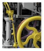 20th Century Mechanical Machinery Sc Fleece Blanket