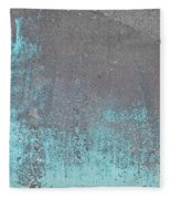 Blue Metal Fleece Blanket