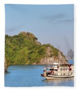 Halong Bay - Vietnam Fleece Blanket