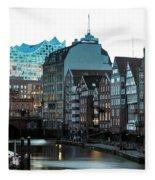 Hamburg - Germany Fleece Blanket