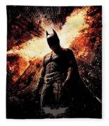 The Dark Knight Rises 2012  Fleece Blanket