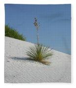 White Sands National Monument Fleece Blanket
