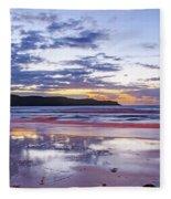 Daybreak Seascape Fleece Blanket