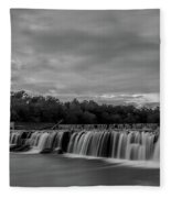 Grand Falls Waterfall Fleece Blanket