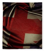 British Flag 5 Fleece Blanket