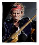 Keith Richards Collection Fleece Blanket
