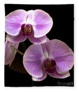 Orchids Kauai Fleece Blanket