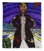 25th Century Sailor Fleece Blanket