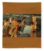 26557 Joaquin Sorolla Y Bastida Fleece Blanket