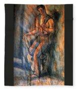 26750 Jesus De Perceval Fleece Blanket