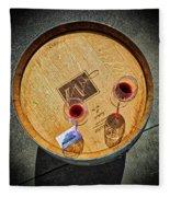 2698- Mauritson Wines Fleece Blanket
