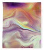 Abstract Fleece Blanket