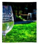 2719- Mauritson Wines Fleece Blanket