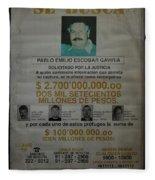 Bogota Museo Historico Policia Fleece Blanket