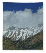 2d07509 High Peaks In Lost River Range Fleece Blanket