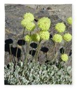 2da5927-dc Sulpher Flower Fleece Blanket