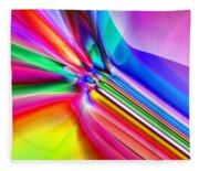 2x1 Abstract 303 Fleece Blanket