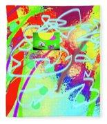 3-10-2015dabcdefghijklmnopqrtuv Fleece Blanket