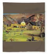 19271933 Nikolay Feshin Fleece Blanket