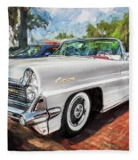 1959 Lincoln Continental Town Car Mk Iv Painted  Fleece Blanket