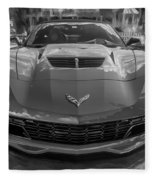 2015 Chevrolet Corvette Zo6 Painted  Fleece Blanket