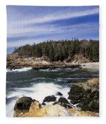 Acadia National Park - Maine Usa Fleece Blanket
