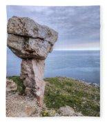 Adhelm's Head - England Fleece Blanket