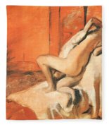 After The Bath Fleece Blanket