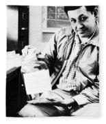 Albert Ghiorso, American Nuclear Chemist Fleece Blanket
