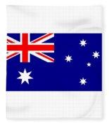 Australia Flag Fleece Blanket
