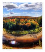 Autumn In Arrowhead Provincial Park Fleece Blanket