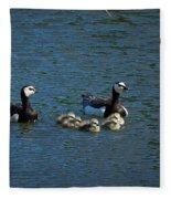 Barnacle Goose Fleece Blanket