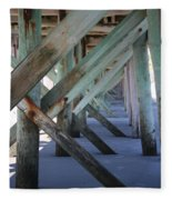 Beneath The Docks Fleece Blanket