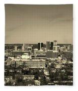 Birmingham Alabama Fleece Blanket