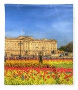 Buckingham Palace London Fleece Blanket