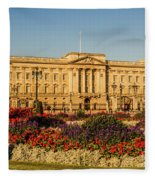 Buckingham Palace, London, Uk. Fleece Blanket