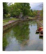 Canterbury - England Fleece Blanket