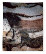 Cave Art Fleece Blanket