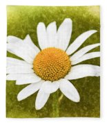 Chamomile Watercolor Fleece Blanket