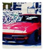 Chevrolet Corvette Fleece Blanket