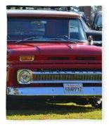 Chevy Pickup Fleece Blanket