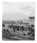 Civil War: Prisoners, 1864 Fleece Blanket
