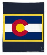 Colorado Flag Fleece Blanket