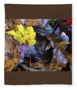 Colors Of The Fall Fleece Blanket