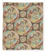 Complex Geometric Pattern Fleece Blanket