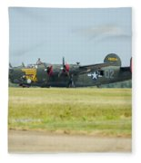 Consolidated B-24j Liberator Fleece Blanket