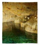 Crystal Cave In Hamilton Parish Bermuda Fleece Blanket
